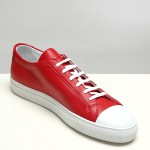 Common Projects Red Cap Toe Low