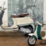 Скутер VESPA в честь 100-летнего юбилея Фреда Перри
