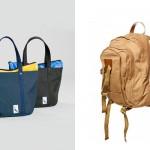 Слева-направо: Steven Alan Port Tote, Topman Premium Canvas Backpack
