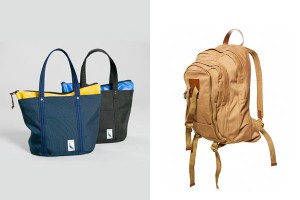 Слева-направо: Steven Alan Port Tote, Topman Premium Canvas Backpack