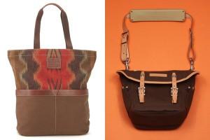 Слева-направо: Pendleton Chinle Four-Pocket Tote, Porter Magnum Camera Bag