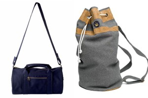 Слева-направо: A.P.C. Dduffel Bag, Hickey Sailor Bag