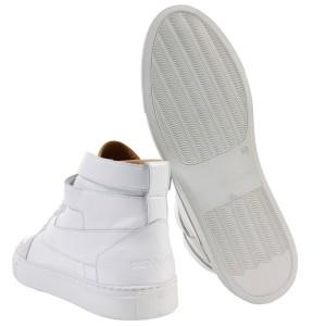 Белые кроссовки KRIS VAN ASSCHE
