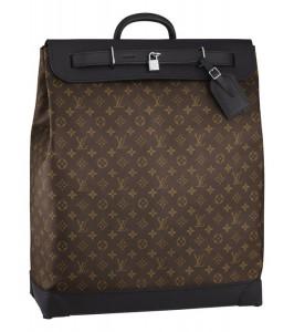 Louis Vuitton Monogram Macassar Steamer Bag