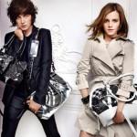 Джордж Крейг и Эмма Уотсон в рекламе Burberry для сезона весна-лето 2010