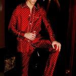 Красная мужская пижама Tom Ford