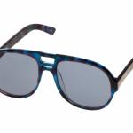 Солнцезащитные очки Ksubi Atria цвета «синий леопард»