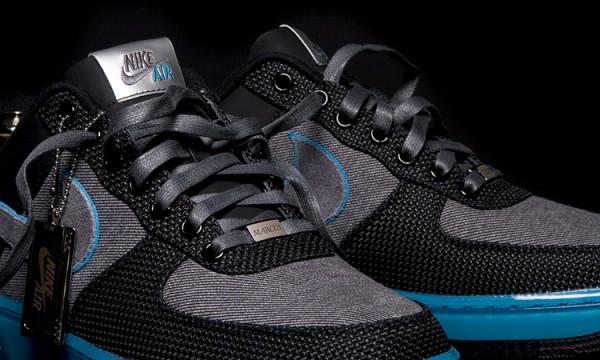 Кроссовки Nike Air Force 1 x Marcus Troy (детально)