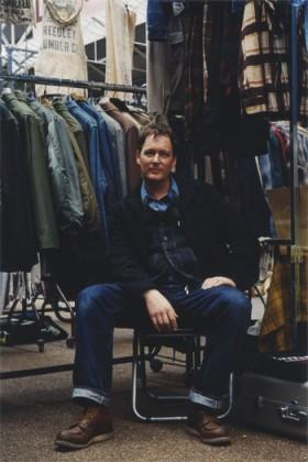 Дэвид Уайт в классических ботинках Red Wing Shoes