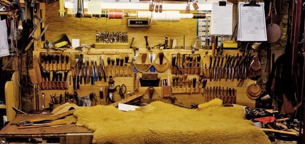 Место, где рождаются изделия из кожи Tanner Goods