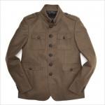 Шерстяной милитари пиджак от Burberry Prorsum