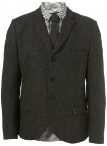 Твидовый пиджак на трех пуговицах, Harris Tweed x Topman