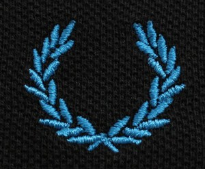 Логотип Fred Perry: лавровый венок