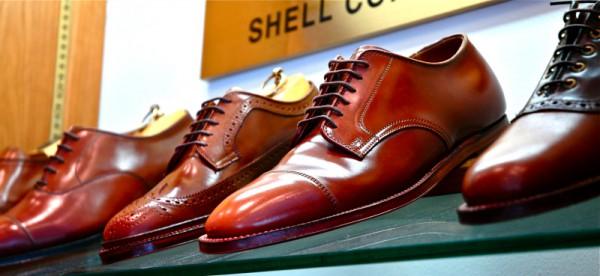 Мужские туфли Alden Shell Cordovan из лошадиной кожи