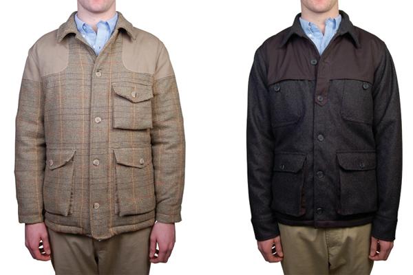 Мужская куртка Foxcroft Penfield Tweed, рубашка Newbury, Penfield Trailwear