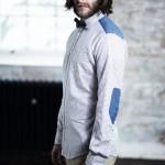 Рубашка с заплатками на локтях, Ben Sherman Modern Classic
