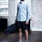 Мужская рубашка, синие шорты, Ben Sherman Modern Classic