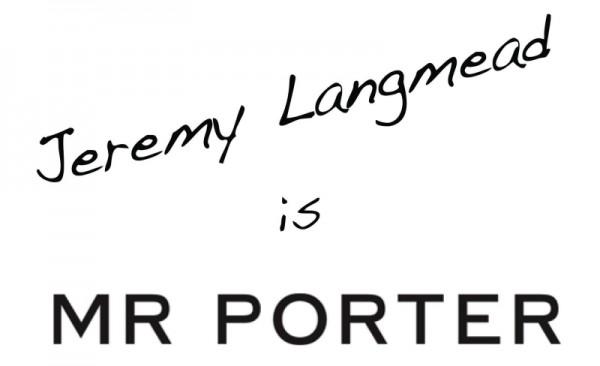 Интернет-магазин мужской одежды mrporter.com