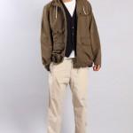Мужская куртка и светлые брюки-чинос, Universal Works