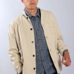 Мужская куртка бежевая, Universal Works