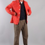 Мужская красная куртка, Universal Works