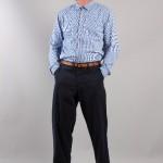 Голубая рубашка и чиносы, Universal Works