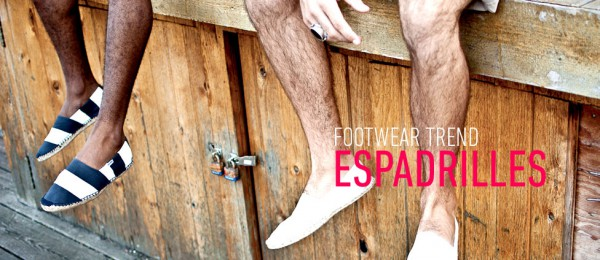 Летняя мужская обувь: эспадрильи