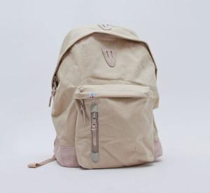 Мужской бежевый рюкзак из прочного нейлона Konbu с основой из замши Kudu, Visvim
