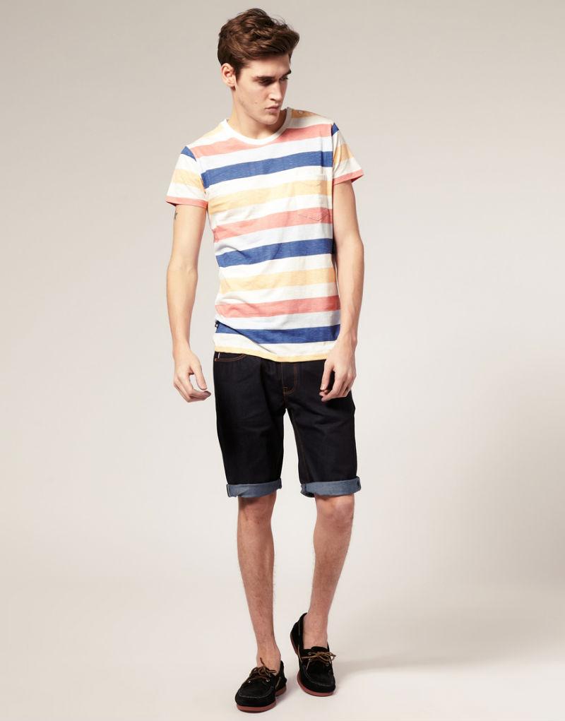 Мужские шорты из джинсовой ткани Dr Denim