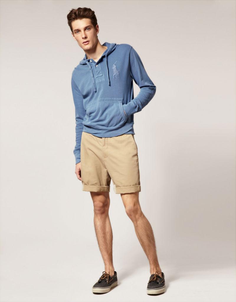 Бежевые шорты-чинос Polo Ralph Lauren