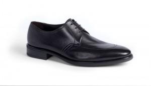 Мужские туфли с открытой шнуровкой и норвежским швом, a.testoni