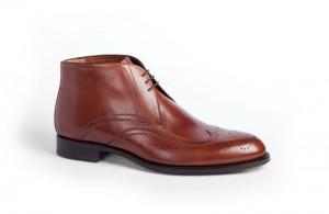 Мужские кожаные ботинки-чукка, a.testoni