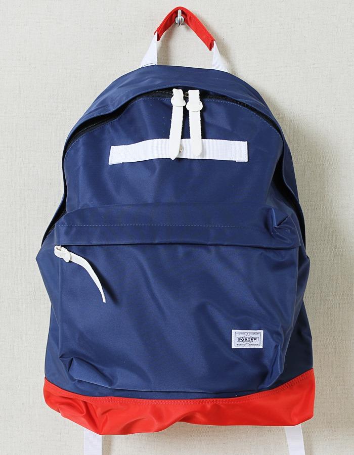 Нейлоновый рюкзак на каждый день, сине-красный, Head Porter