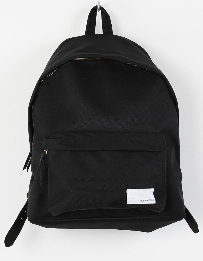 Черный рюкзак из высокопрочного нейлона Cordura, Nanamica