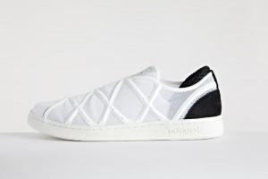 Мужские белые кроссовки adidas Y-3 Yohji Smith