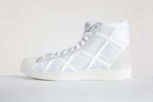 Мужские высокие кроссовки adidas Y-3 Yohji Star белые