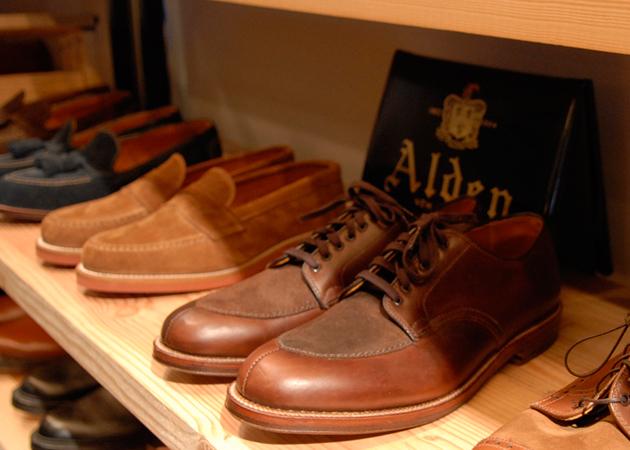 Мужские ботинки и туфли Alden в корнере UNIONMADE