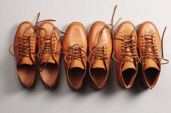 Мужские кожаные ботинки сделанные вручную, FEIT