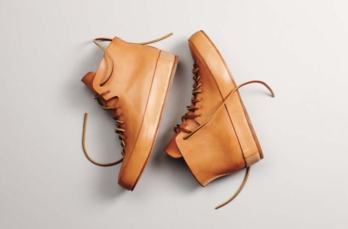 Высокие кожаные ботинки, FEIT