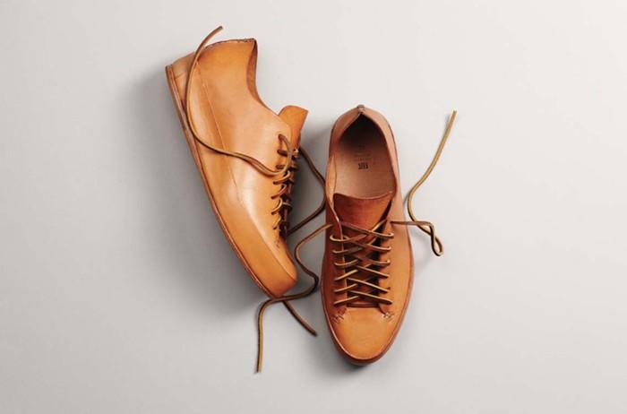 Светло-коричневые мужские кожаные ботинки, FEIT