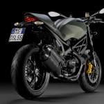 Мотоцикл Ducati Monster x Diesel (вид сзади)