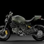 Мотоцикл Ducati Monster x Diesel (вид сбоку)