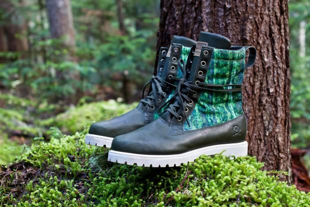 Ботинки Ransom x adidas Originals из кожи и нейлона Cordura камуфляжной расцветки