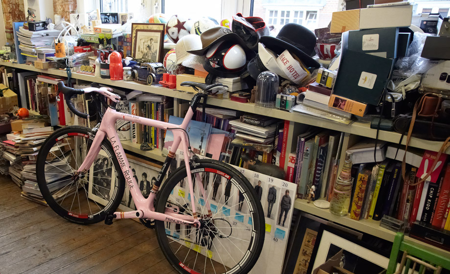 Шоссейный велосипед La Flamme Rouge x Paul Smith