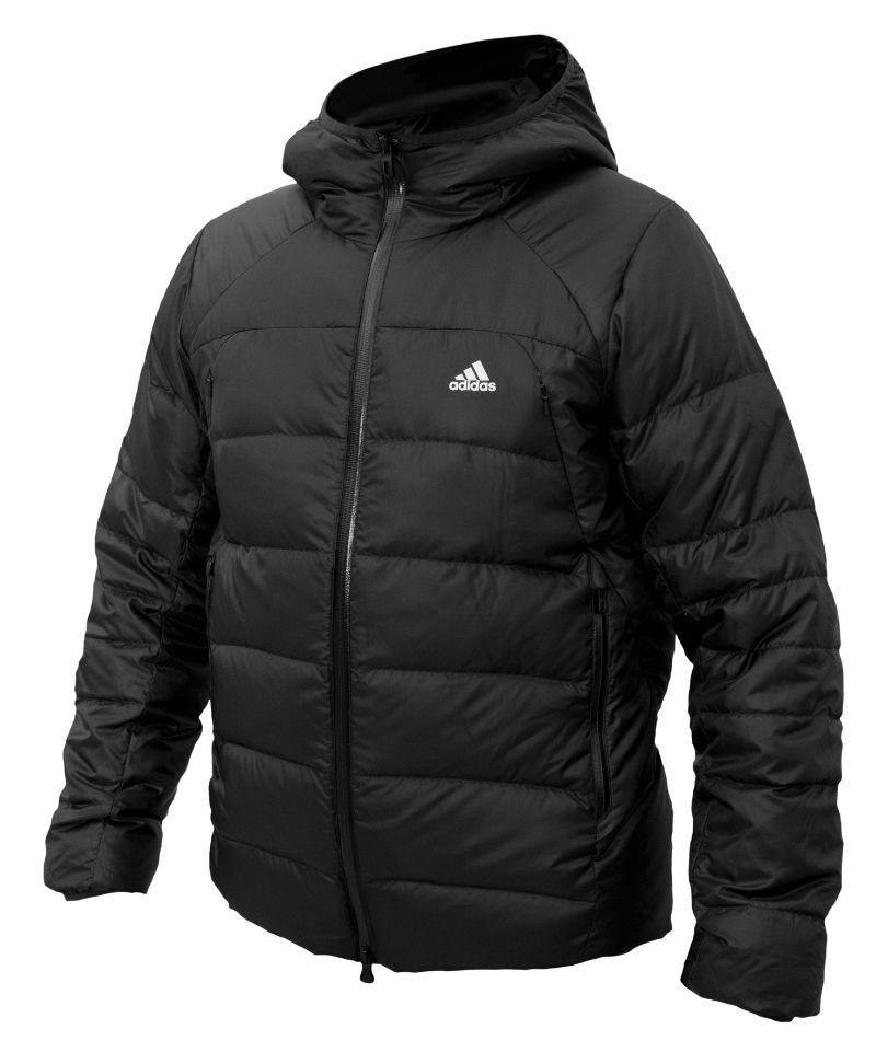 Мужская зимняя куртка на пуху adidas Ice 650, черная