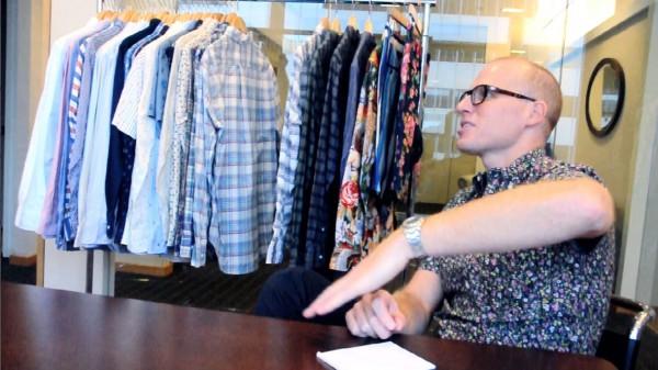 Chris Olberding, дизайнер рубашек марки Gitman Vintage