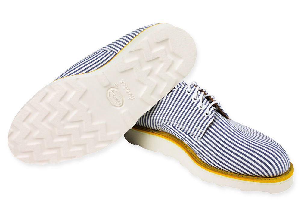 Туфли Mark McNairy для Gitman Vintage на белой подошве Vibram