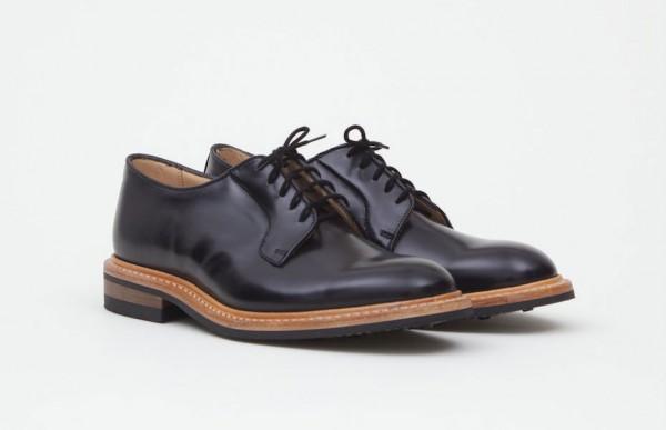 Черные мужские ботинки Tricker's из кожи кордован