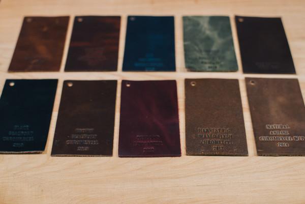 Примеры кожи Chromexcel от Horween