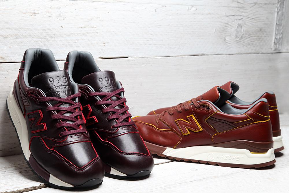Кожаные классические кроссовки New Balance M998 Horween Made in USA